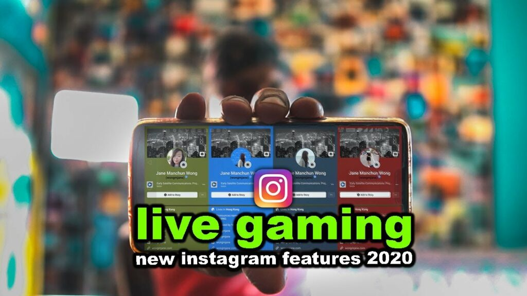 สตรีมเกมมือถือ ไปยัง Instagram Live